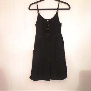 Xhilaration Black Mini Dress with Pockets